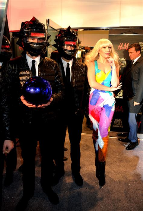 Lady Gaga x H&M Times Square NYC Opening Event