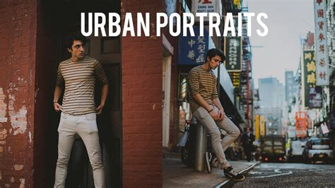 HOW TO EDIT MOODY URBAN PORTRAITS IN ADOBE PHOTOSHOP