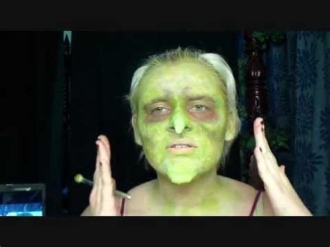 Wicked Witch Makeup - YouTube