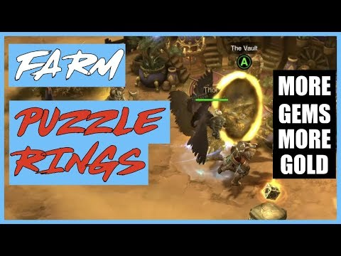 Diablo 3 : The vault by transmute Puzzle Ring - YouTube