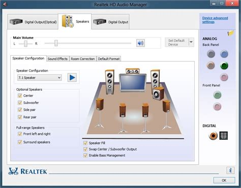 Solved: How to get back old Realtek HD Audio Manager - HP