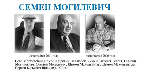 Semion Mogilevich Relationship With Putin - Business Insider