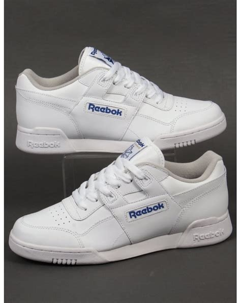 Reebok Workout Plus Trainers White | 80s casual classics