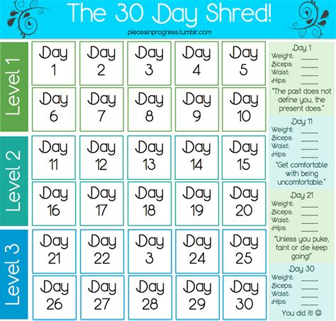 Just Yasmeen - 30 day shred