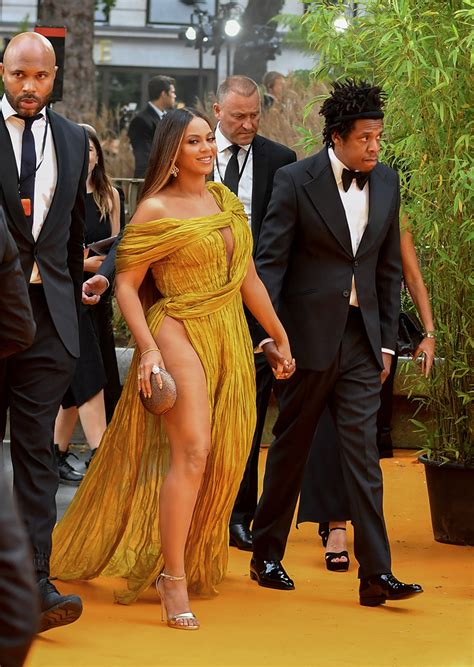 Beyonce Knowles-Carter and Jay-Z attend the European