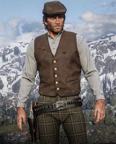 Arthur Morgan in 2020 | Photo and video, Vest dress, Photo