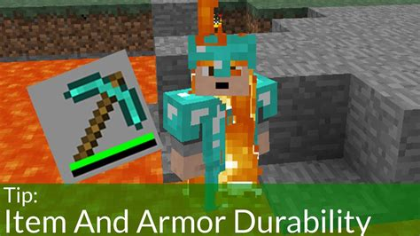 Item and Armor Durability in Minecraft
