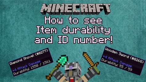 Minecraft Tips and Tricks: How to see item durability and